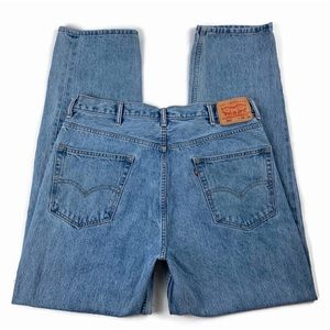 Levis 550 Denim Blue Jeans Red Tag